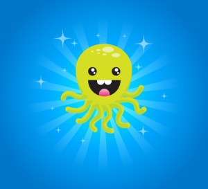 Happy-Octopus-Character